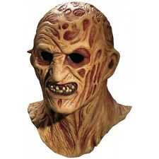 Halloween Latex Mask Freddy Krueger Adult Scary Cosplay Costume Fancy
