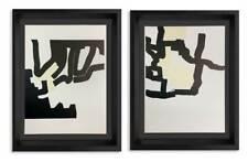 Eduardo Chillida Litographs ORIGINAL (2pc SET), 1970