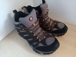 Mens Merrell Moab Mid Walking Boots Size UK 9 EU 43.5