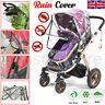 UNIVERSAL Quality CLEAR Baby PRAM Pushchair Rain Cover Stroller Buggy RAINCOVER