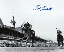 "Secretariat 1973 Kentucky Derby Remote 8"" x 10"" Photo Signed Ron Turcotte"