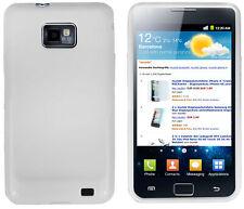 mumbi Schutzhülle f. Samsung Galaxy S2 Hülle Case Cover Tasche Handy Schutz weiß