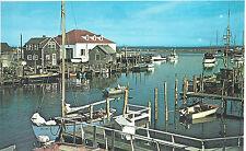 Menemsha Village  Coast Guard Boat House   Martha's Vineyard  MA   Postcard