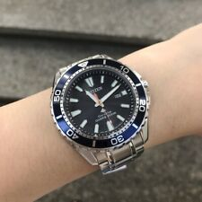 Citizen Marine Diver Watch * Eco-Drive BN0191-80L Blue Dial Silver Steel