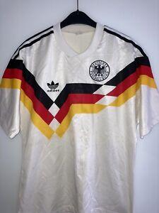 DFB Deutschland ADIDAS Trikot Gr. M WM 1990 90 **RAR** kein Retro!
