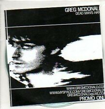 (325J) Greg McDonald, Dead Man's Hand - DJ CD