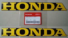 Honda Frame Emblem Sticker Decals x 2 CF50 CF70 C90 MONKEY DAX CHALY **GENUINE**