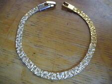 LOVELY Gold Tone TEXTURED Bracelet