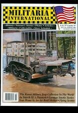 2001 Militaria International Magazine: Rarest Military Jeep Collection in World