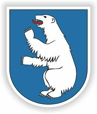 Coat of Arms Sticker of Greenland Car Guitar Fridge Snowboard Tool Box Laptop pc