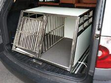 Hundetransportbox Hundebox DOPPELBOX +Komfortmatte m.Separtion (A-CA-XXL-SEP)