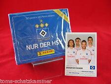 Panini 125 Jahre HSV 1 Box 50 Tüten + Update = 250 Sticker + Extra Sondersticker