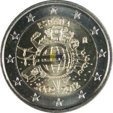 Pièces euro d'Espagne pour 2 euro année 2012