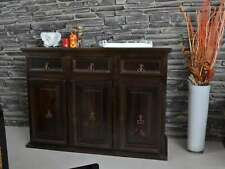 Sideboard Mexico Möbel 126x90x47 cm Kolonialstil Massivholz Pinie Kolonialstil