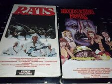 Bloodsucking Freaks 1976 Rats Deadly Eyes (1982) VHS 80S HORROR B-MOVIES RARE