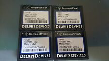 lot of 4 delkin devices compactflash cf memory cards 16 gb  BRAND NEW!