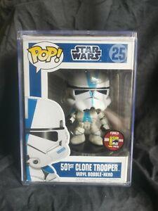 """FUNKO POP STAR WARS/25/ 501ST CLONE TROOPER 2012 SDCC 480PCS LIMITED """"ORIGINAL"""""""
