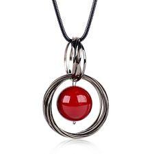 Fashion Jewelry Chain Pendant Faux Pearl Choker Chunky Statement Bib Necklace