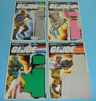 Lot 1988 GI Joe File Card Back Storm Shadow Lightfoot Hardball Iron Grenadies