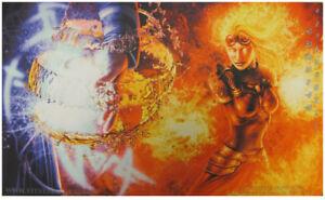 Jace vs. Chandra Playmat Custom GAMING SUPPLY BRAND NEW ABUGames