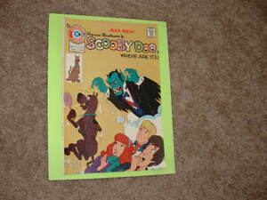 1975 Charlton Hanna Barbera Scooby Doo 2 Where are You? Solid VG Fast Shipping