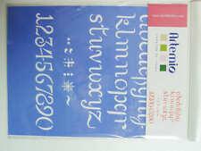 Pochoir Lettres Chiffres Signes tous supports planche 26cm Artemio DIY Home Déco