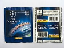 POCHETTE PANINI CHAMPIONS LEAGUE 2010 2011 LIGUE 1 PACKET TUTEN BUSTINA STICKERS
