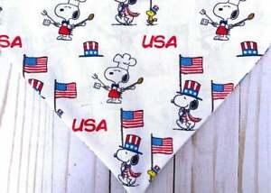 Winter Wonderland /'Snoopy /& Friends/' Themed Dog Bandana