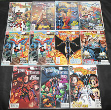Dc Copper-Modern Teen Titans 137pc Count Comic Lot Grade Vf-Nm Old Store Stock