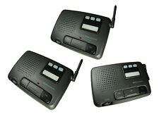 3 Channel FM Digital Genuine Wireless Office Home Security Garden Intercom Set