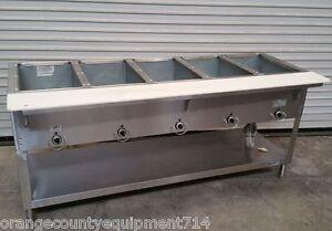 NEW 5 Well Gas Steam Table Duke AeroHot DB 305 Dry Bath NSF #4407 Commercial Hot