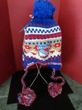 New York Rangers Women, Girls, Beanie / Hat with Pom Pom by REEBOK