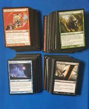 Lotto 280 carte Magic Counter Burn Rare Uncommon Holographic Foil Holo M10 Lot