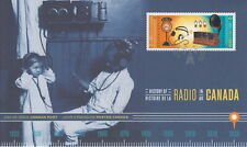 CANADA 2020 HISTORY OF RADIO IN CANADA FIRST DAY COVER