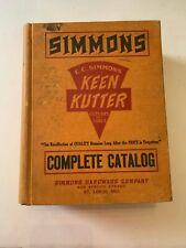 1935 EC Simmons Keen Kutter No. 5 Catalog St. Louis Missouri