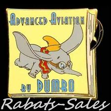 Dumbo - Advanced Aviation Book by Dumbo - Disney Auctions Pin Le1000 New On Card