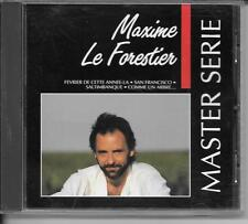 CD COMPIL 16 TITRES--MAXIME LE FORESTIER--MASTER SERIE