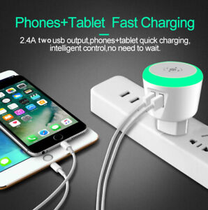 USB Smart Timer Smart Charger for iPhone iPad Samsung Galaxy HTC Xiaomi LG Huawe