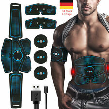 ABS Stimulator Bauchmuskeltrainer EMS Trainingsgerät Elektro Exerciser Fit Pad