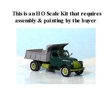 HO SCALE: 1941-47 GMC w/DUMP BODY- Sylvan KIT #V-113