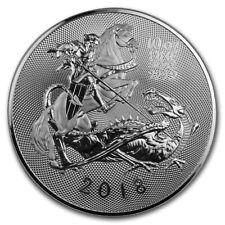 10 oz Großbritannien 999 Silber Silbermünze Valiant / Tapferkeit 2018 St. George