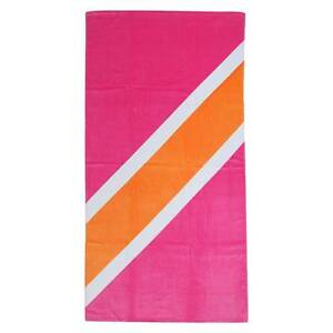 "New! Target Stripe Beach Towel Paradise Pink 32"" X 62"""