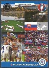 PANINI EURO 2016 ADRENALYN XL CARD- #368-SLOVAKIA-PASSION & PRIDE