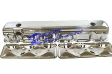 62-74 Chevy Straight 6 Cylinder Chrome Valve Cover w/ Side Plate 194 230 250 292