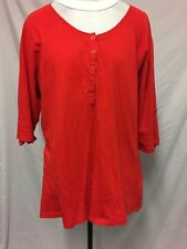 Red Moda target knit top size 16