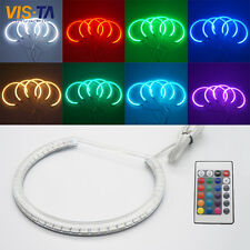 For BMW E53 X5 92-2006 Xenon Headlight RGB remote Multi-Color LED Angel Eyes Kit