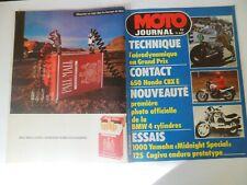 MOTO JOURNAL N°601 du 21/04/1983 HONDA 650 CBX E BMW 4 CYLINDRES YAMAHA 1000