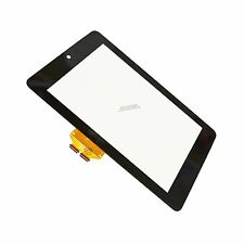 ASUS GOOGLE NEXUS 7 Display Glas Touch Screen Front Scheibe schwarz Digitizer