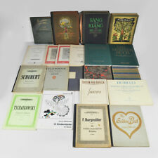Konvolut Notenbücher - Notenhefte - alt - Klaviernoten - Sammlung