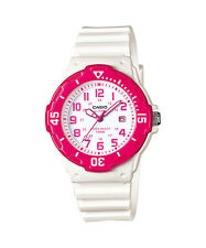 Casio Women's Ladies Sports Style Watch With White Display, Pink LRW-200H-4B
